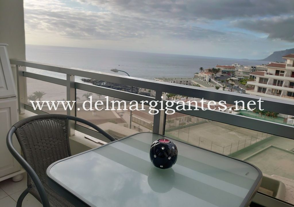 Puerto Santiago-Arenas Negras-apartament 4 osoby-taras